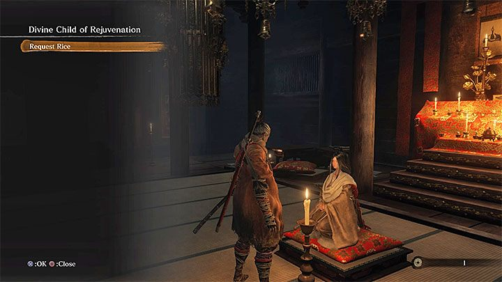 Important limitations related to this item is that you only have one rice stack - Rice | Unique items in Sekiro Shadows Die Twice - Unique items - Sekiro Guide and Walkthrough