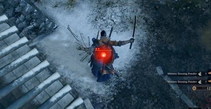 Start the fight by performing a Deathblow from the rooftop. - Shigekichi of the Red Guard | Sekiro Shadows Die Twice Boss Fight - Bosses - Sekiro Guide and Walkthrough