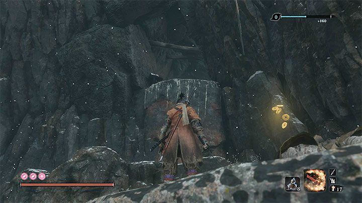 Go through a small cave - Gourd Seeds | Unique items in Sekiro Shadows Die Twice - Unique items - Sekiro Guide and Walkthrough