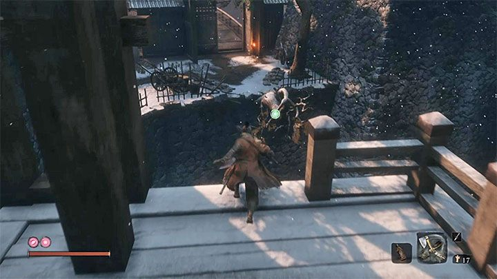 Move back towards the draw bridge and then go to the area on the left (the picture) - How to reach Senpou Temple in Sekiro Shadows Die Twice? - FAQ - Sekiro Guide and Walkthrough