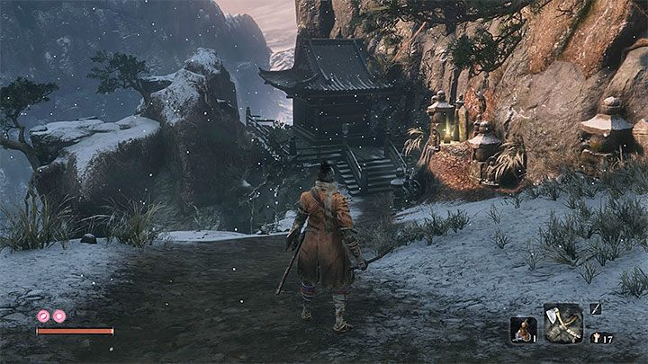 The first path to this mini-boss starts in the main part of Ashina Outskirts, the area you have to go through to reach Ashina Castle - Headless #2 | Sekiro Shadows Die Twice Boss Fight - Bosses - Sekiro Guide and Walkthrough