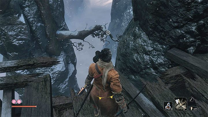 Move from one hook point to another - Headless #2 | Sekiro Shadows Die Twice Boss Fight - Bosses - Sekiro Guide and Walkthrough