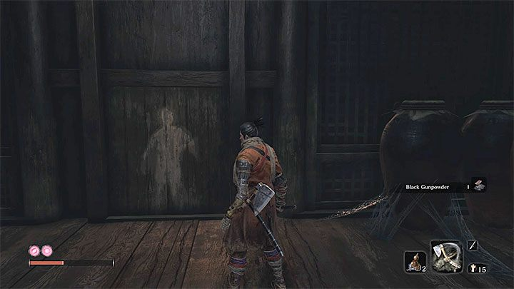 This path is much easier - you wont have to jump between hook points located above a chasm - Headless #2 | Sekiro Shadows Die Twice Boss Fight - Bosses - Sekiro Guide and Walkthrough