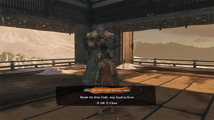 The first save game copy has to be created right before meeting with the Great Shinobi-Owl, which takes place on the roof of Ashina Castle - Important information about Sekiro Shadows Die Twice endings - Game Endings - Sekiro Guide and Walkthrough