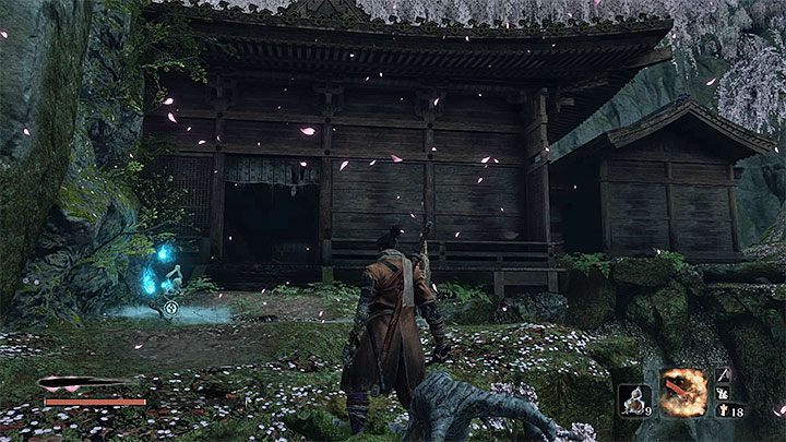 Reach Palace Grounds Sculptors Idol and stop exploring the Fountainhead Palace for a moment - Return | Sekiro Shadows Die Twice endings - Game Endings - Sekiro Guide and Walkthrough