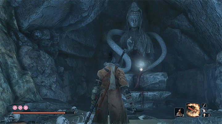 The second required item is called Dried Serpent Viscera - Return | Sekiro Shadows Die Twice endings - Game Endings - Sekiro Guide and Walkthrough