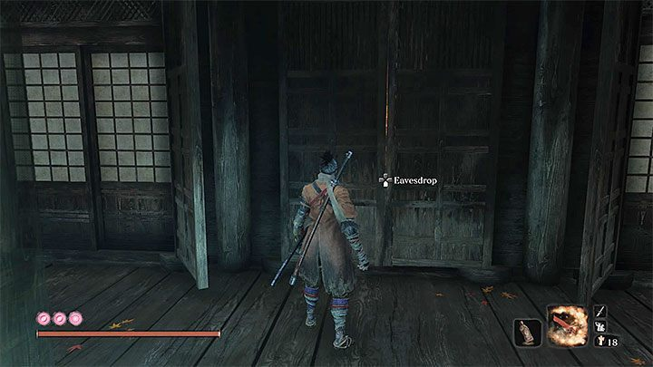 Bring both quest items to the Divine Child of Rejuvenation - Return | Sekiro Shadows Die Twice endings - Game Endings - Sekiro Guide and Walkthrough