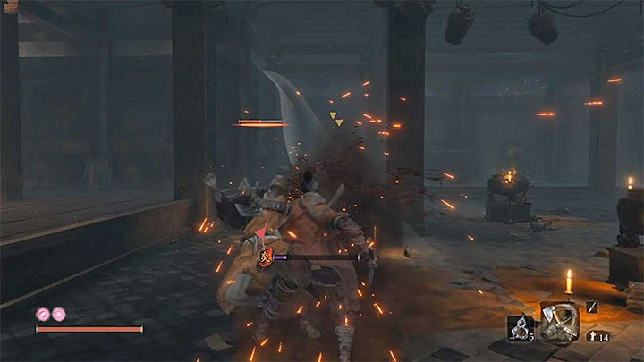 The time spent on a single farming expedition depends on when you decided to go back - XP and Gold Farming in Sekiro Shadows Die Twice - Basics - Sekiro Guide and Walkthrough