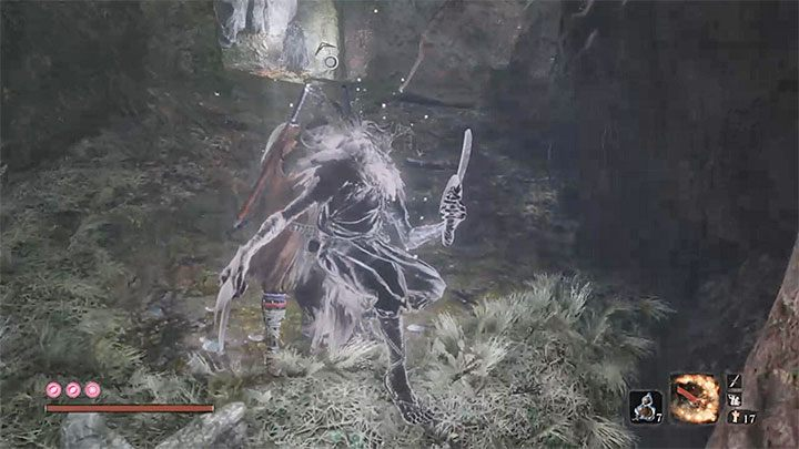 Perform a Backstab Deathblow on the first spirit enemy - XP and Gold Farming in Sekiro Shadows Die Twice - Basics - Sekiro Guide and Walkthrough