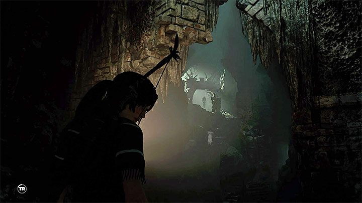 Swim through a flooded corridor to reach a large cave - How to get a shotgun in Shadow of the Tomb Raider Game? - FAQ - Shadow of the Tomb Raider Game Guide