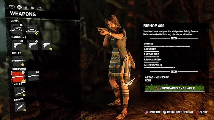 A cut-scene will be triggered, during which Lara automatically searches the body and obtains a Bishop 600 shotgun - How to get a shotgun in Shadow of the Tomb Raider Game? - FAQ - Shadow of the Tomb Raider Game Guide