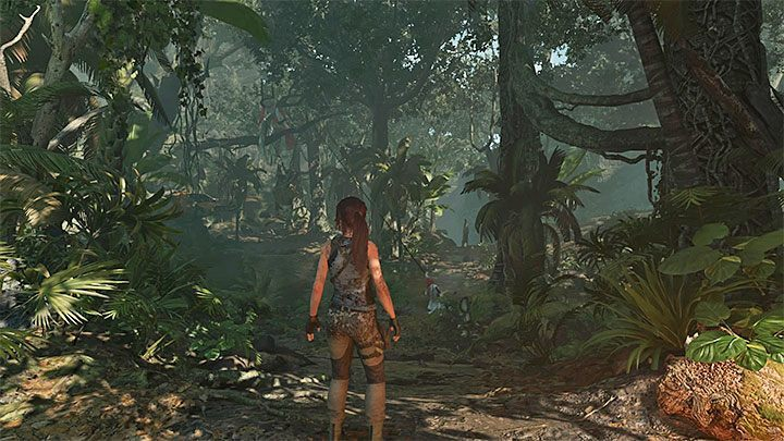You can get the knife back after completing the first stage of the jungle and reaching the main hub of that location - the first camp - How to get the knife, bow, and axe back in Shadow of the Tomb Raider? - FAQ - Shadow of the Tomb Raider Game Guide