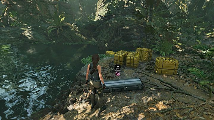 Now you can reach the place, where the cargo was dropped - How to get the knife, bow, and axe back in Shadow of the Tomb Raider? - FAQ - Shadow of the Tomb Raider Game Guide