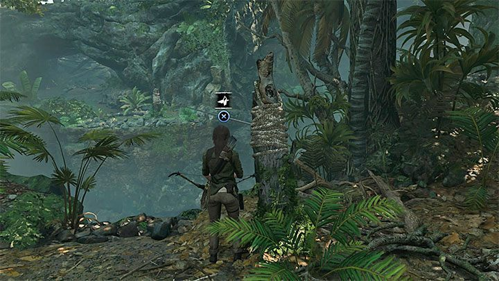 Reaching the climbing axe requires you to get further down into the jungle, which used to be unavailable before youd gotten the bow - How to get the knife, bow, and axe back in Shadow of the Tomb Raider? - FAQ - Shadow of the Tomb Raider Game Guide