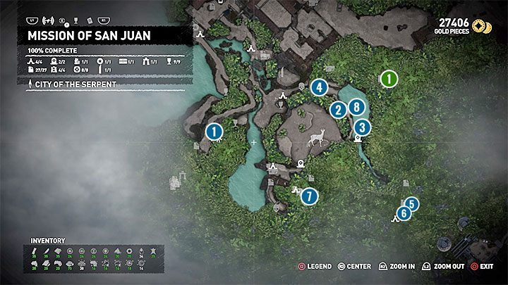 1 - Survival Caches and the Conquistador Chest | Secrects Shadow of the Tomb Raider - Mission of San Juan - Shadow of the Tomb Raider Game Guide
