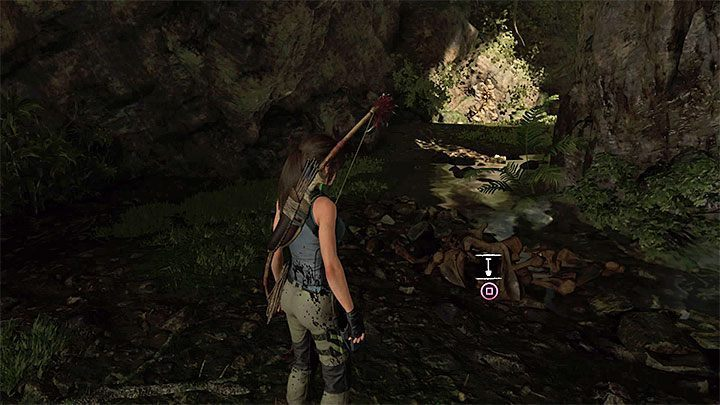 The Cache (1) is in the wolf cave - Survival Caches and the Conquistador Chest | Secrects Shadow of the Tomb Raider - Mission of San Juan - Shadow of the Tomb Raider Game Guide