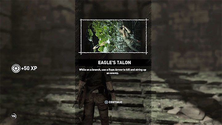 Eagles Talon is a skill that is not available from the very beginning of the game - Surprise! trophy in Shadow of the Tomb Raider - Trophy Guide - Shadow of the Tomb Raider Game Guide