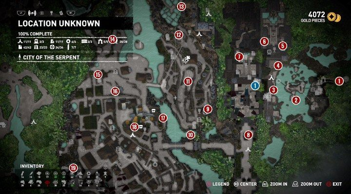 Chests and survivalist cache in The Hidden City   Secrets in SotTR on