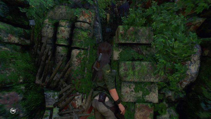 Once youre through with the cliffs, youll find a spot with a campfire - Challenge Tombs - Peruvian Jungle Tombs in Shadow of the Tomb Raider Game - Challenge Tombs - Shadow of the Tomb Raider Game Guide