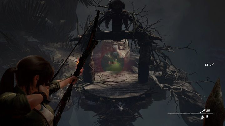 Following the path you will find another trap - Challenge Tombs - Mission of San Juan in Shadow of the Tomb Raider - Challenge Tombs - Shadow of the Tomb Raider Game Guide