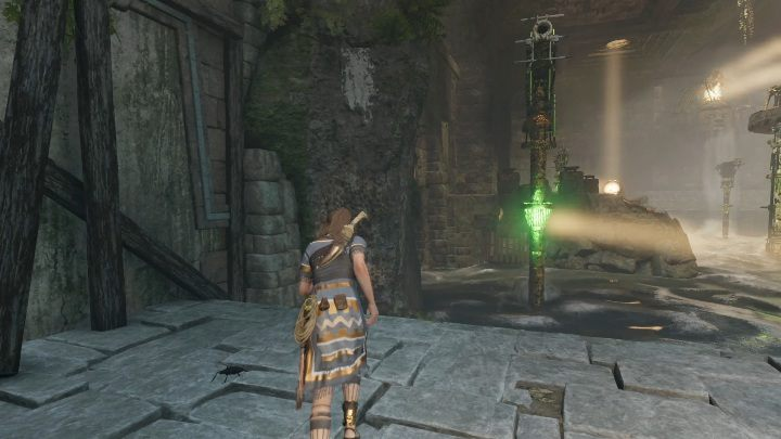 Set the next mirror in such way that the light falls on the left column - Challenge Tombs - The Hidden City in Shadow of the Tomb Raider - Challenge Tombs - Shadow of the Tomb Raider Game Guide