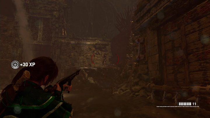 When you open the passage a dozen enemies will appear - Challenge Tombs - The Hidden City in Shadow of the Tomb Raider - Challenge Tombs - Shadow of the Tomb Raider Game Guide
