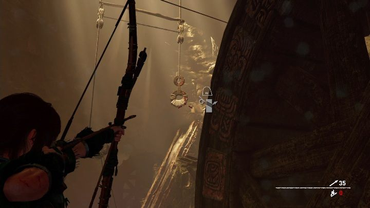 From there connect successive ropes with each other - Challenge Tombs - The Hidden City in Shadow of the Tomb Raider - Challenge Tombs - Shadow of the Tomb Raider Game Guide