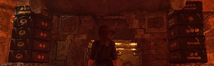 You can use the hint and turn the dials for the last time - How to solve the Gate riddle in the Kuwak Yaku in Shadow of the Tomb Raider? - Solving Riddles - Shadow of the Tomb Raider Game Guide
