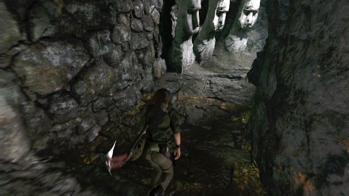 As you enter the cave, you must prepare yourself for two traps - Peruvian Jungle Crypts in Shadow of the Tomb Raider Game - Crypts - Shadow of the Tomb Raider Game Guide