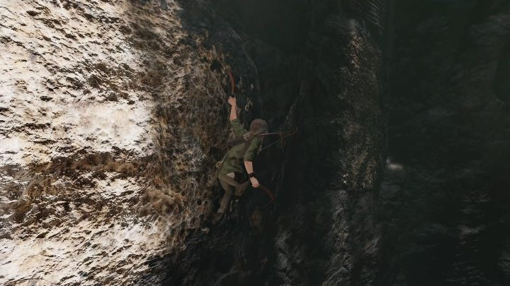 After leaving the cave, jump onto the wall on the left side - Peruvian Jungle Crypts in Shadow of the Tomb Raider Game - Crypts - Shadow of the Tomb Raider Game Guide