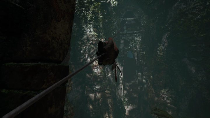 To get out of the crypt you have to go to a higher level of the cave - Peruvian Jungle Crypts in Shadow of the Tomb Raider Game - Crypts - Shadow of the Tomb Raider Game Guide