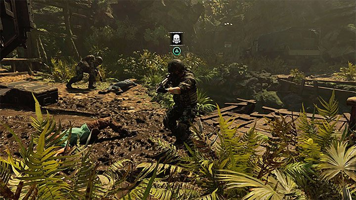 Having safely approached the APC from the bushes, you will see a short cut-scene - Reaching Kuwaq Yaku - Where the Twins Confer - Peruvian Jungle - return - Shadow of the Tomb Raider Game Guide