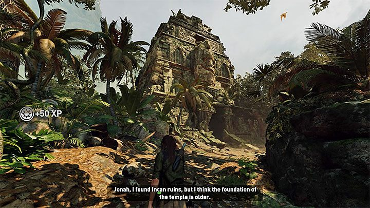 The Kuwaq Yaku village is a large location, offering numerous side activities - Exploring the ruins - Where the Twins Confer; Path of the Living - Kuwaq Yaku - Shadow of the Tomb Raider Game Guide