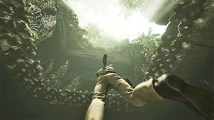 When exploring the submerged area you cant forget about one more thing except piranhas - youre limited oxygen supply under water - Escaping the temple and returning to the Kuwaq Yaku - Path of the Dead - Kuwaq Yaku - Shadow of the Tomb Raider Game Guide