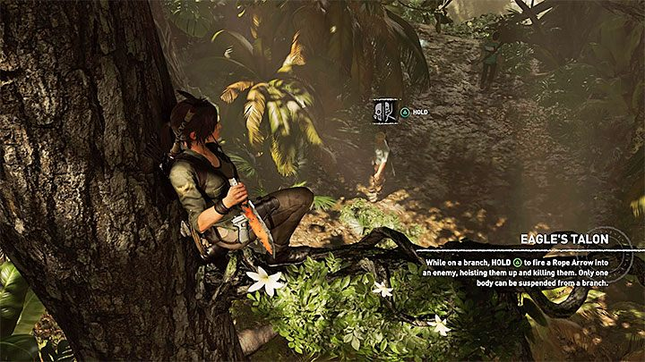 Not long after you begin your walk home across the jungle, Lara will stumble upon new opponents - Escaping the temple and returning to the Kuwaq Yaku - Path of the Dead - Kuwaq Yaku - Shadow of the Tomb Raider Game Guide
