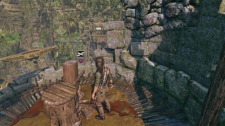 Идите налево от моста и поднимитесь по стене к башне - Как решить загадку моста в игре Shadow of the Tomb Raider? - Рединг загадок - Тень игры в гробницу