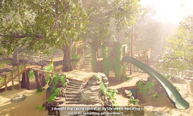 As far as the current ending is concerned, the scene starts by showing the playground of little Lara - Is it there a deleted ending in Shadow of the Tomb Raider? - FAQ - Shadow of the Tomb Raider Game Guide