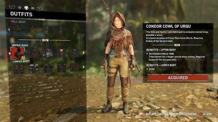 How to get - Finish the second crypt Kuwaq Yaku (use a shotgun to get into it) - All Laras outfits in Shadow of the Tomb Raider - Equipment - Shadow of the Tomb Raider Game Guide