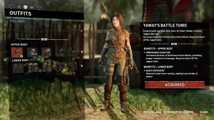 How to get - Complete a side mission Widows Tears - All Laras outfits in Shadow of the Tomb Raider - Equipment - Shadow of the Tomb Raider Game Guide