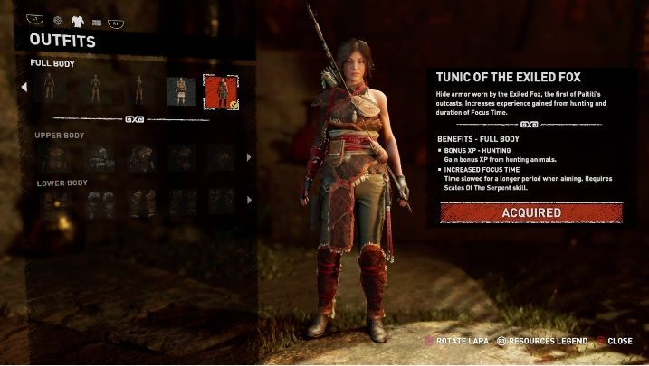 How to get - Purchase Shadow of the Tomb Raider - Croft Edition - All Laras outfits in Shadow of the Tomb Raider - Equipment - Shadow of the Tomb Raider Game Guide