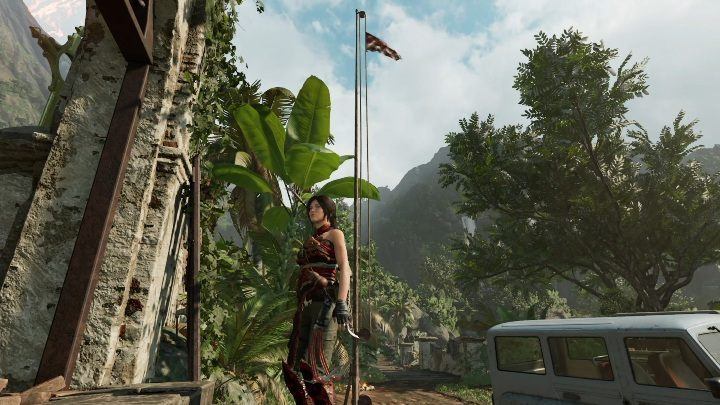 You will find 5 flags on the Mission of San Juan map - Challenge | Secrects in Shadow of the Tomb Raider - Mission of San Juan - Shadow of the Tomb Raider Game Guide