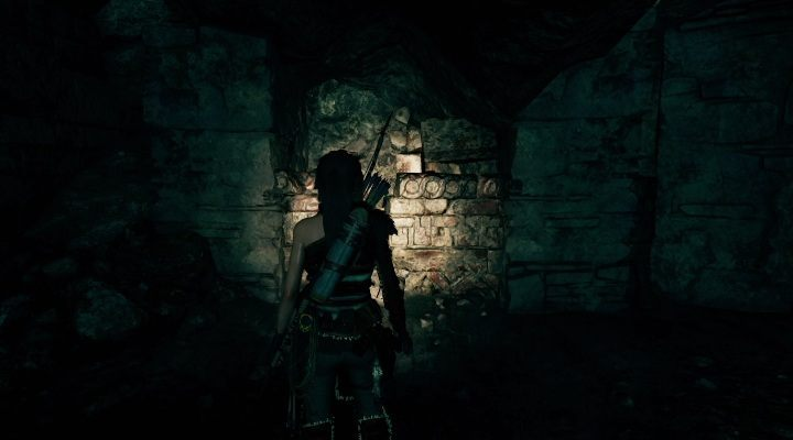 This document lies on a bright wall - Chests, relicts and documents | Secrects in Shadow of the Tomb Raider - Cozumel - Shadow of the Tomb Raider Game Guide