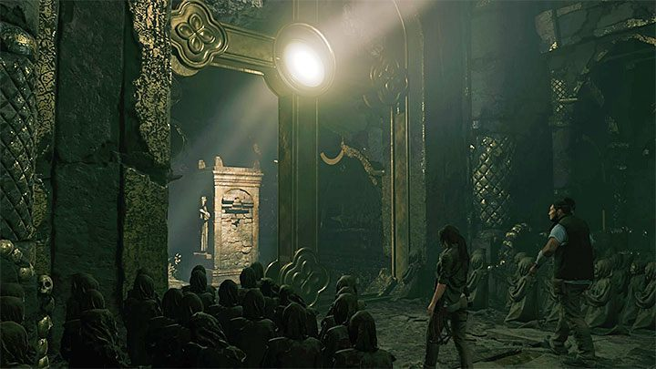 1 - Exploring the secret crypt and finding the Silver Box - Via Crucis - Mission of San Juan - Shadow of the Tomb Raider Game Guide
