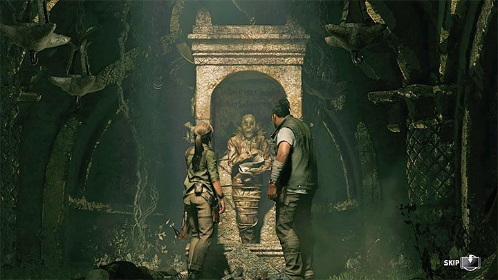 This is the end of the puzzle - Exploring the secret crypt and finding the Silver Box - Via Crucis - Mission of San Juan - Shadow of the Tomb Raider Game Guide
