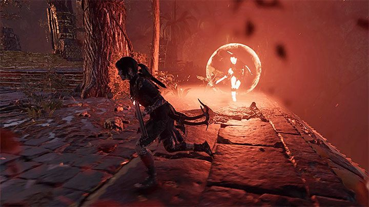 Repeat the actions described above - attack Dominguez from a distance, avoid his attacks and wait for the moment when he gets weakened so you can attack him with a melee attack - Exploration of the city and the final boss - City of the Serpent - The finale - City of the Serpent - Shadow of the Tomb Raider Game Guide