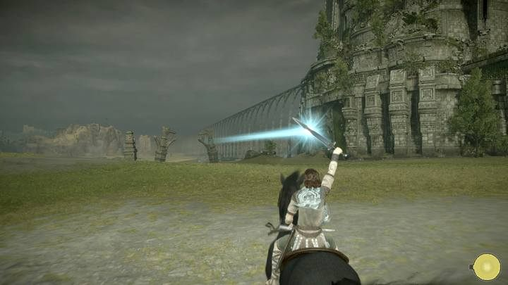 However, you can use your sword to find the colossi - Navigating the world in Shadow of the Colossus - Basics - Shadow of the Colossus Game Guide