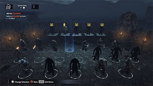 Basic information | Sauron's Army (Nemesis System) - Middle-earth: Shadow  of Mordor Game Guide | gamepressure.com