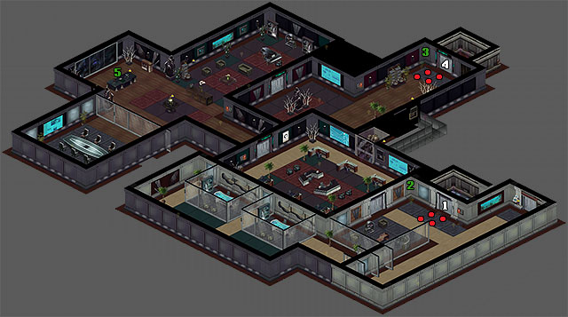 Executive Actions Walkthrough Shadowrun Returns Game