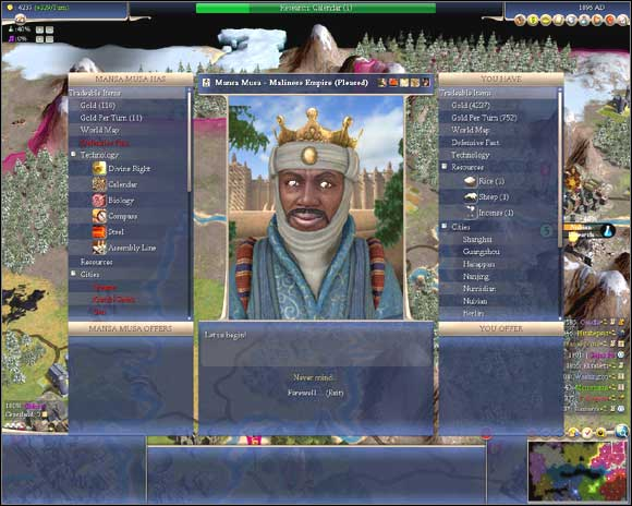 Sid Meier's Civilization IV - Diplomacy - Game Guide and walkthrough
