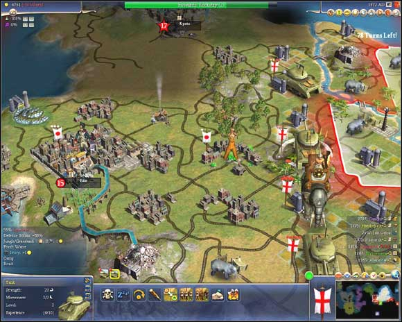 War is an inevitable part of every CIV game - even if you try to avoid it, AI can always have another plans - The Art of War - More - Sid Meiers Civilization IV - Game Guide and Walkthrough